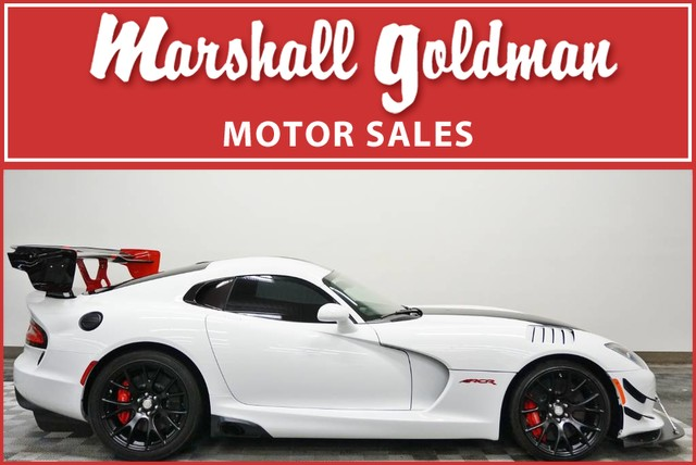 Dodge Vipers For Sale >> Pre Owned 2016 Dodge Viper Acr Extreme Aero Coupe In Warrensville
