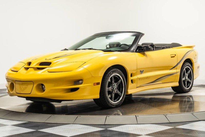 Pre-Owned 2002 Pontiac Firebird Trans Am Convertible Collector Edition