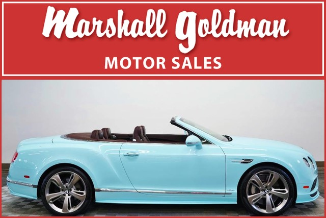 Pre-Owned 2016 Bentley Continental GTC Speed
