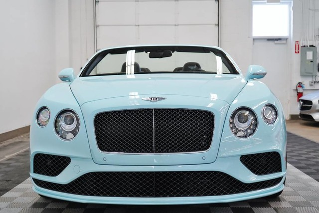 Pre Owned 2016 Bentley Continental Gtc Speed Convertible In