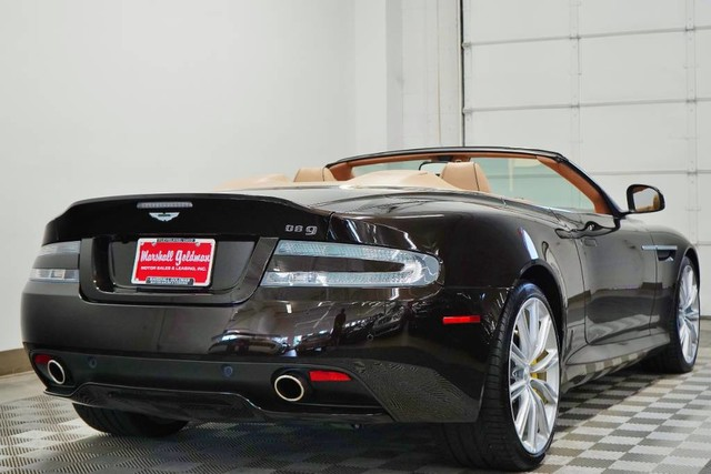 PreOwned Aston Martin DB Volante Convertible In Warrensville - Aston martin db9 pre owned