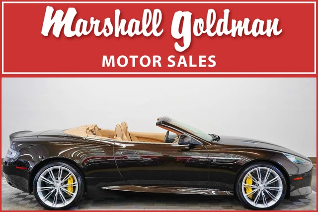 PreOwned Aston Martin DB Volante Convertible In Warrensville - Aston martin db9 convertible