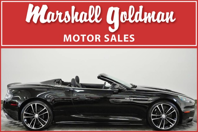 Pre-Owned 2011 Aston Martin DBS Volante Carbon Black