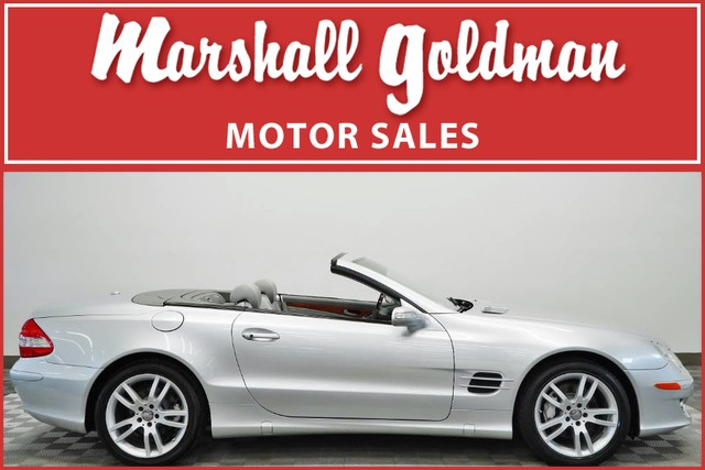 Pre-Owned 2008 Mercedes-Benz SL550 V8