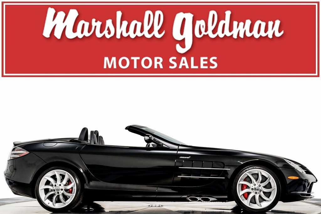 Pre-Owned 2008 Mercedes-Benz SLR McLaren Roadster