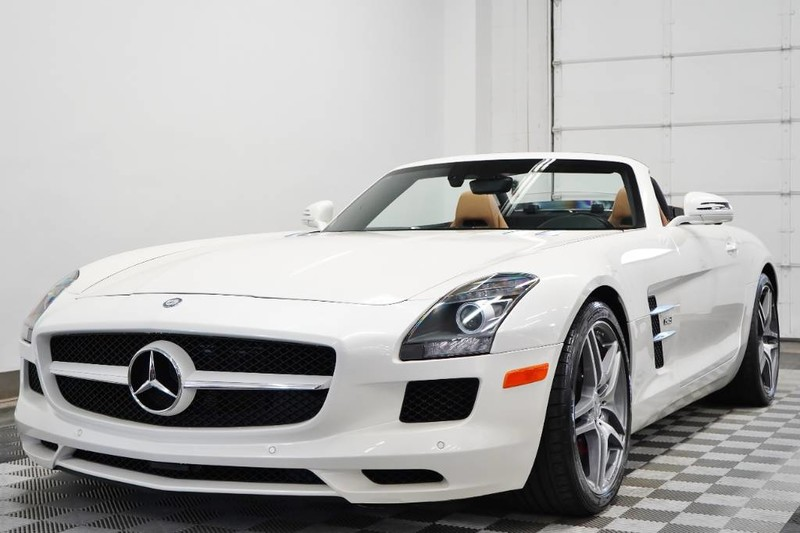 Pre-Owned 2012 Mercedes-Benz SLS AMG® Roadster
