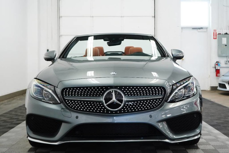 Pre Owned 2017 Mercedes Benz C300 Cabriolet