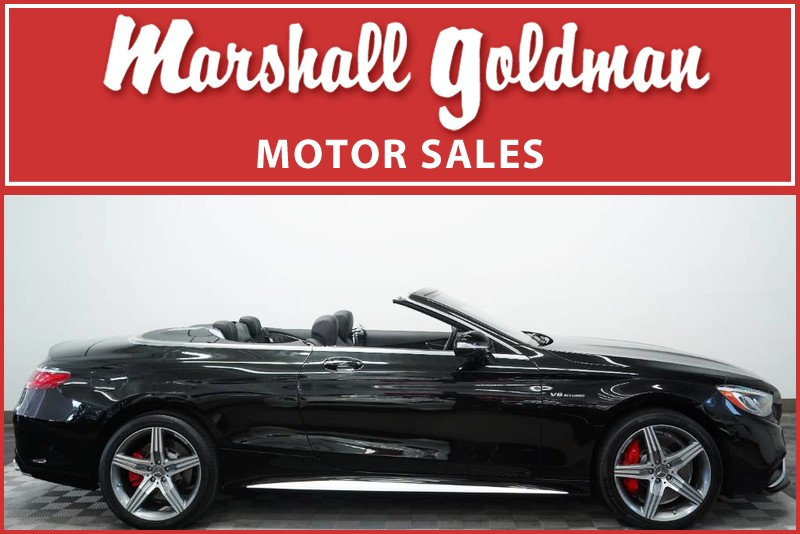Pre Owned 2017 Mercedes Benz S63 Amg Cabriolet
