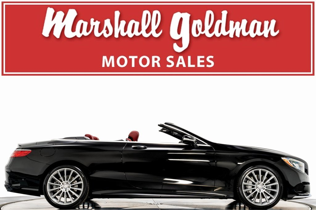 Pre-Owned 2017 Mercedes-Benz S550 Cabriolet
