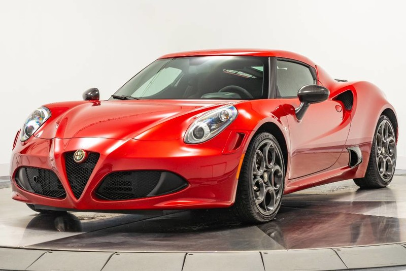 Pre-Owned 2015 Alfa Romeo 4C Launch Edition