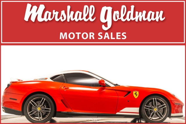 Pre-Owned 2011 Ferrari 599 GTB Fiorano F60F1 Alonso Edition