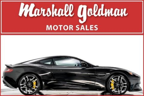 Pre-Owned 2015 Aston Martin Vanquish Carbon Black