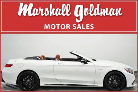 Pre-Owned 2017 Mercedes-Benz S63 AMG® Cabriolet