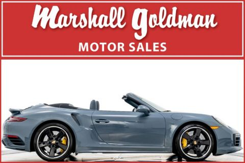 Pre-Owned 2017 Porsche 911 Turbo S Cabriolet