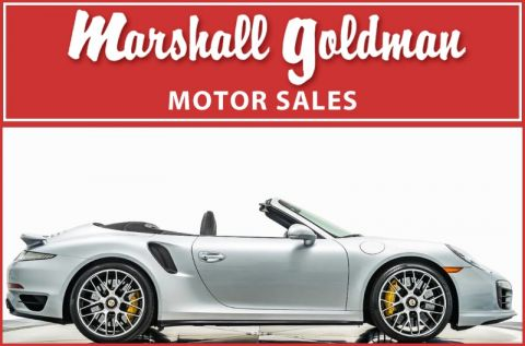 Pre-Owned 2014 Porsche 911 Turbo S Cabriolet