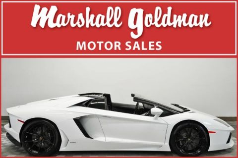 Pre-Owned 2016 Lamborghini Aventador LP 700-4 Roadster